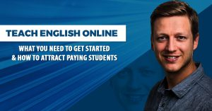 teach english online - get started