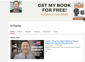 youtube teach english online image