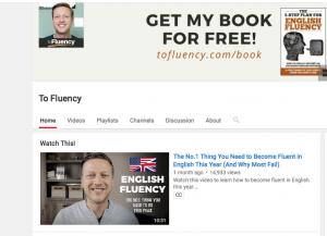 youtube teach english online image