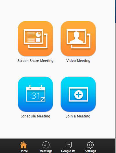 Zoom Cloud Meeting Software