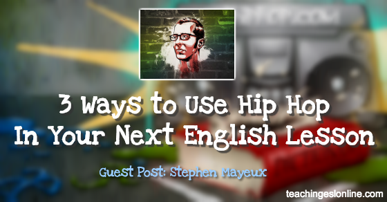 ESLHIPHOP Guest Post