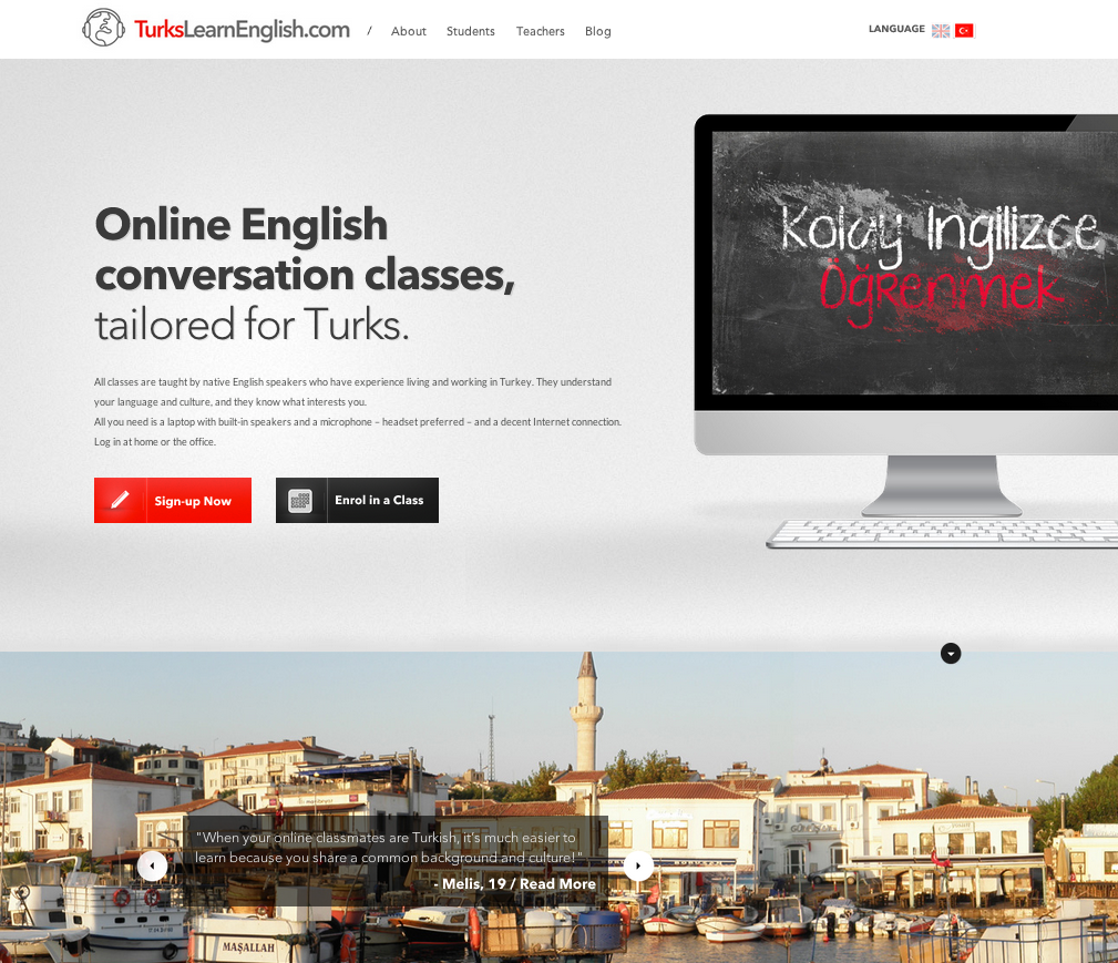 Turks Learn English