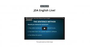 Live Webinar JDA English