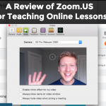 teach English online using Zoom