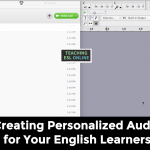 Personalized Audio English Learners
