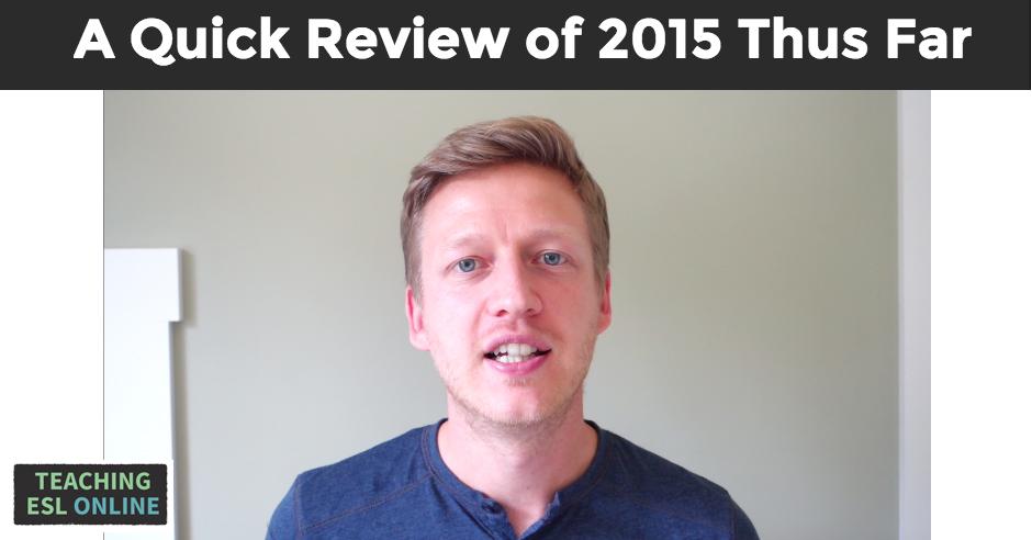 2015 Thus Far
