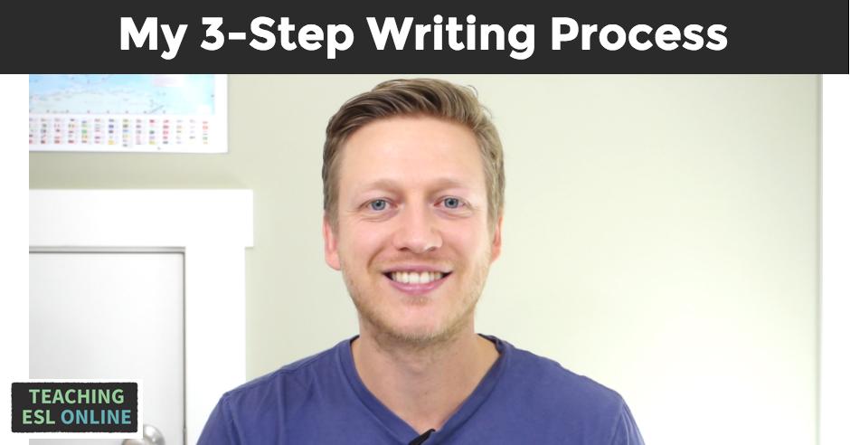 3-Step Writing Process Image