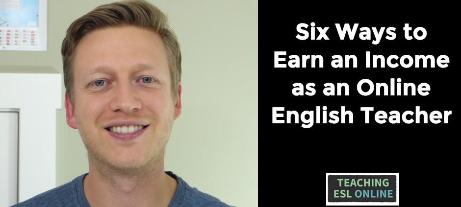 Earn Income English Teacher