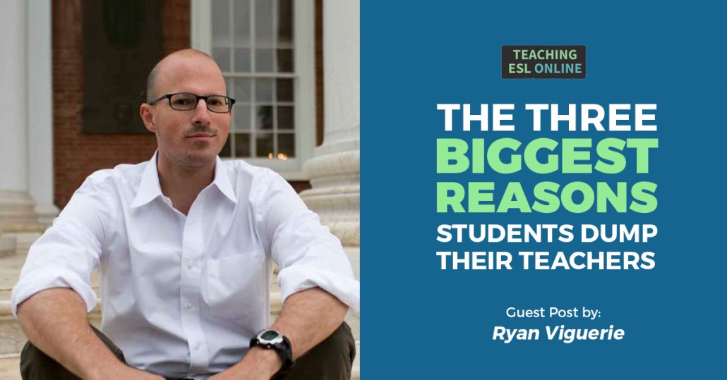 Reasons Students Dump Their Teachers