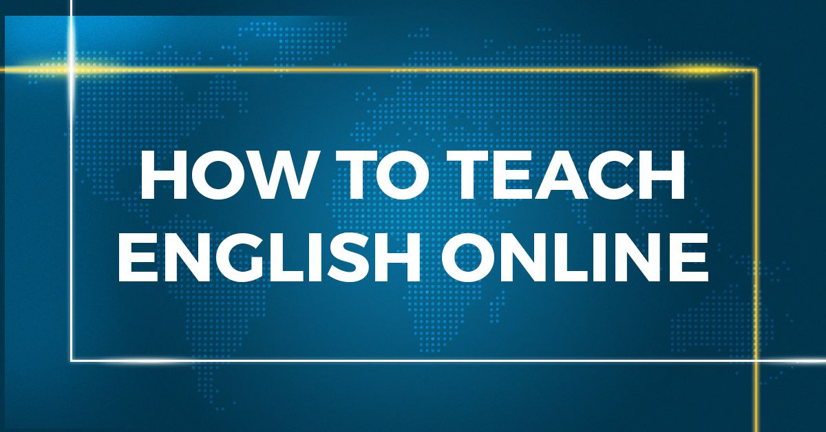Teach English Online Image