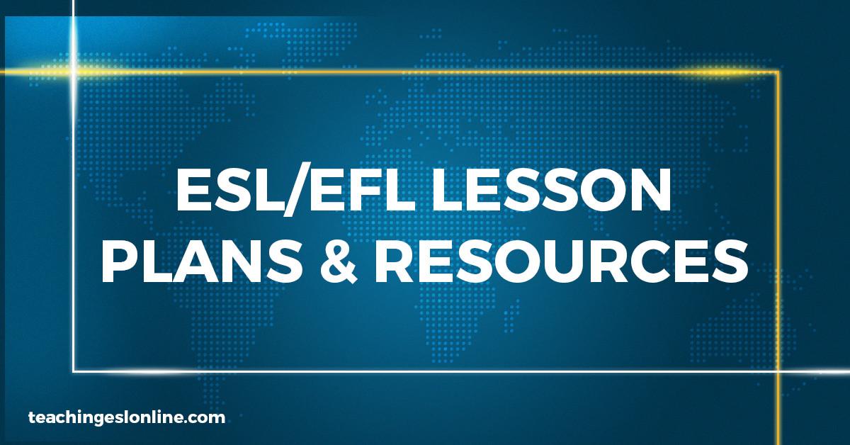 ESL EFL Lesson Plans