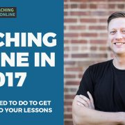 teaching online 2017