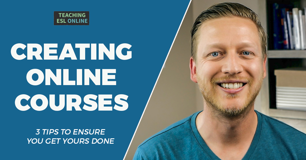3 Tips creating online courses