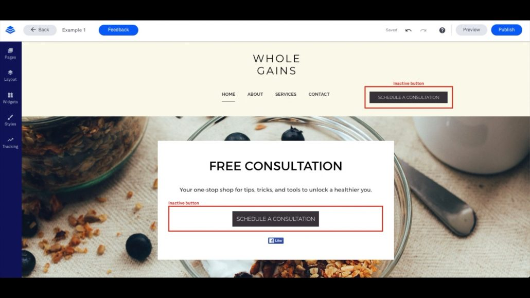 LeadPages Example Template